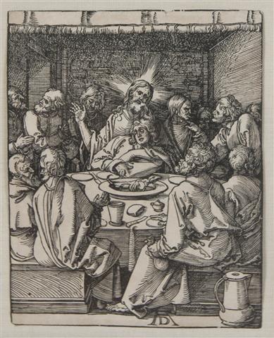 386: Albrecht Durer, (German, 1471-1528), The Last Supp