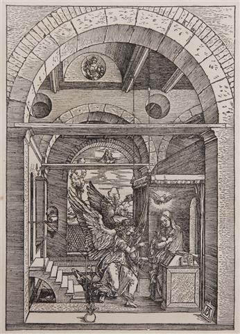 387: Albrecht Durer, (German, 1471-1528), The Annunciat