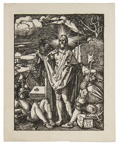 388: Albrecht Durer, (German, 1471-1528), The Resurrect