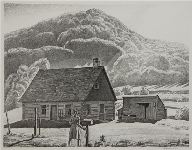 397: Rockwell Kent, (American, 1882-1971), Adirondack C