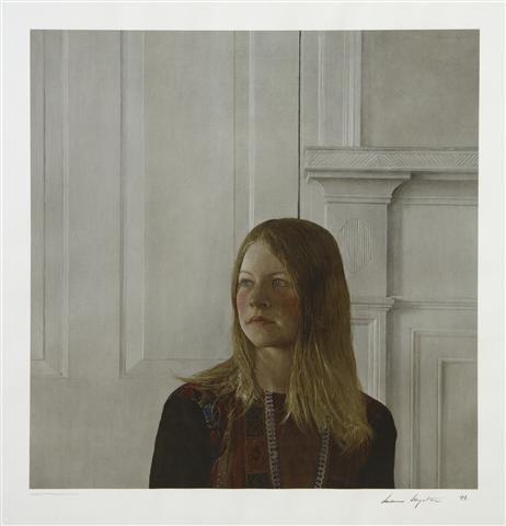 399: Andrew Wyeth, (American, 1917-2009), Siri