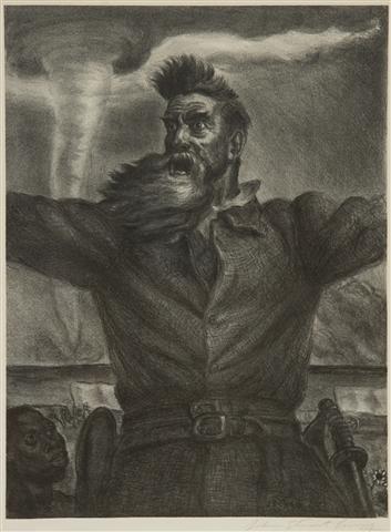402: John Steuart Curry, (American, 1897-1946), John Br