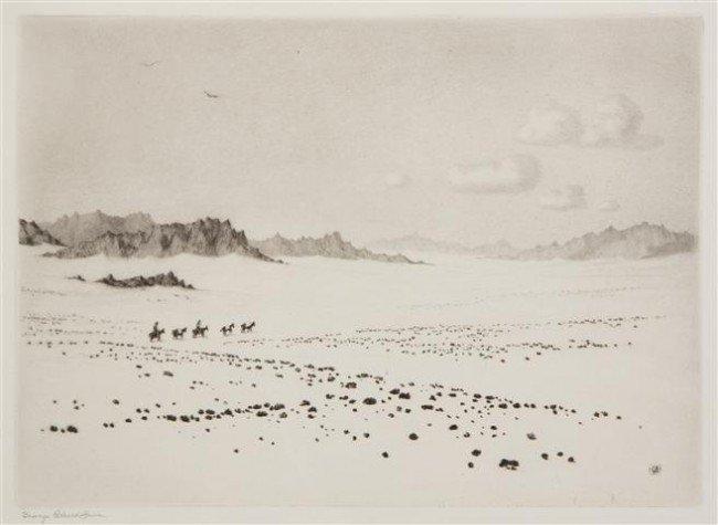 404: George Elbert Burr, (American, 1859-1939), Land of