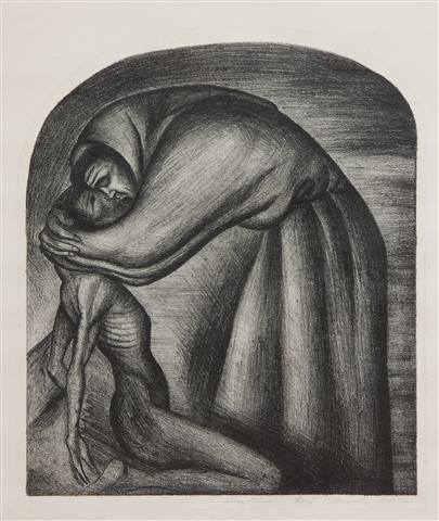 406: Jose Clemente Orozco, (Mexican, 1883-1949), The Fr