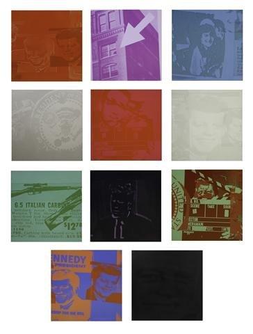 526: Andy Warhol, (American, 1928-1987), Flash - Novemb