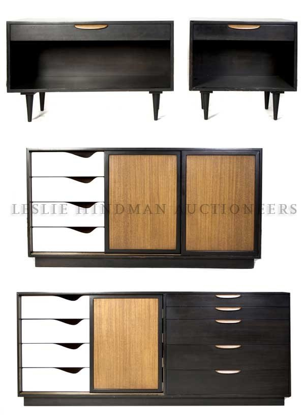 7: A Suite of Bedroom Furniture, Harvey Probber, Height