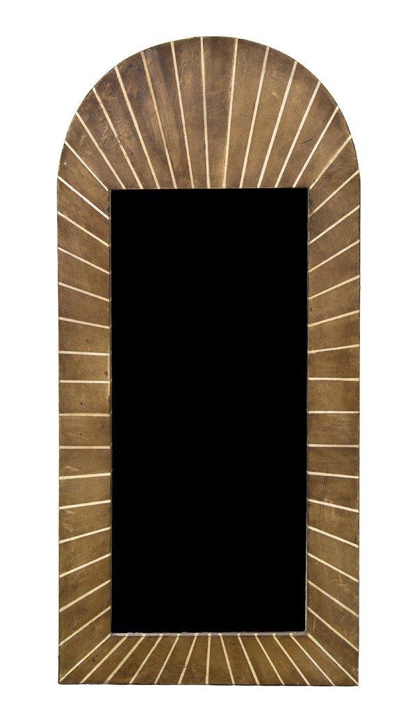 12: An Art Deco Style Pier Mirror, Height 51 x width 23
