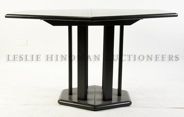 20: A Contemporary Hexagonal Extension Table, Height 29
