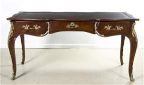 94: A Louis XV Style Gilt Metal Mounted Bureau Plat, Ka