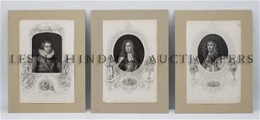 285 A Group of Prints Pertaining to English Royalty H