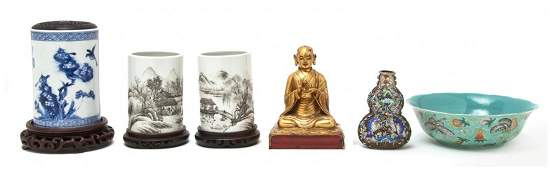 570: A Collection of Asian Decorative Articles, Height