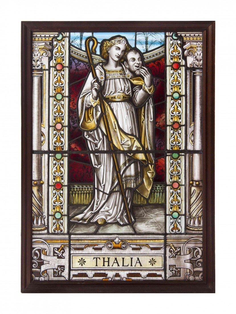 12: A Late Victorian Leaded Glass Window, Arthur Louis