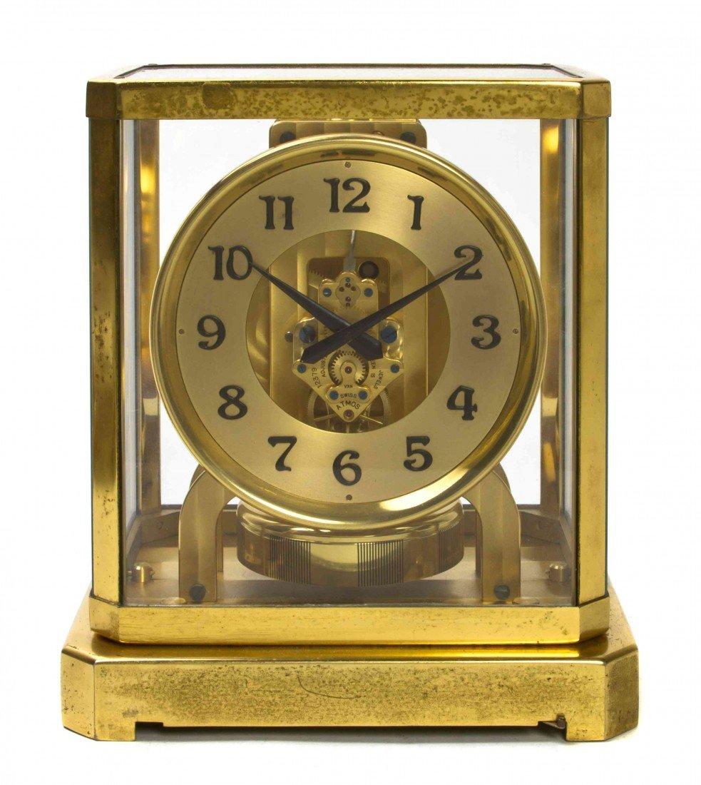 384: A Swiss Brass Atmos Clock, LeCoultre & Cie, Height