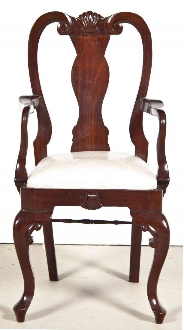 2011: A Chippendale Style Mahogany Diminutive Chair, He