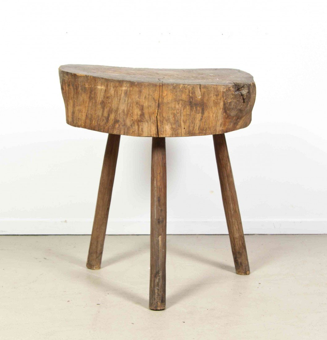 2013: An American Wood Butcher's Block, Height 30 1/4 i