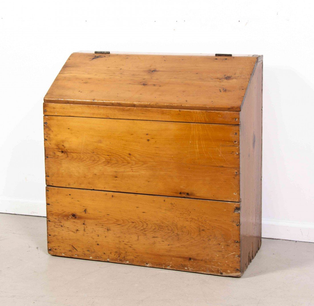 2014: An American Pine Kindling Box, Height 30 3/4 x wi