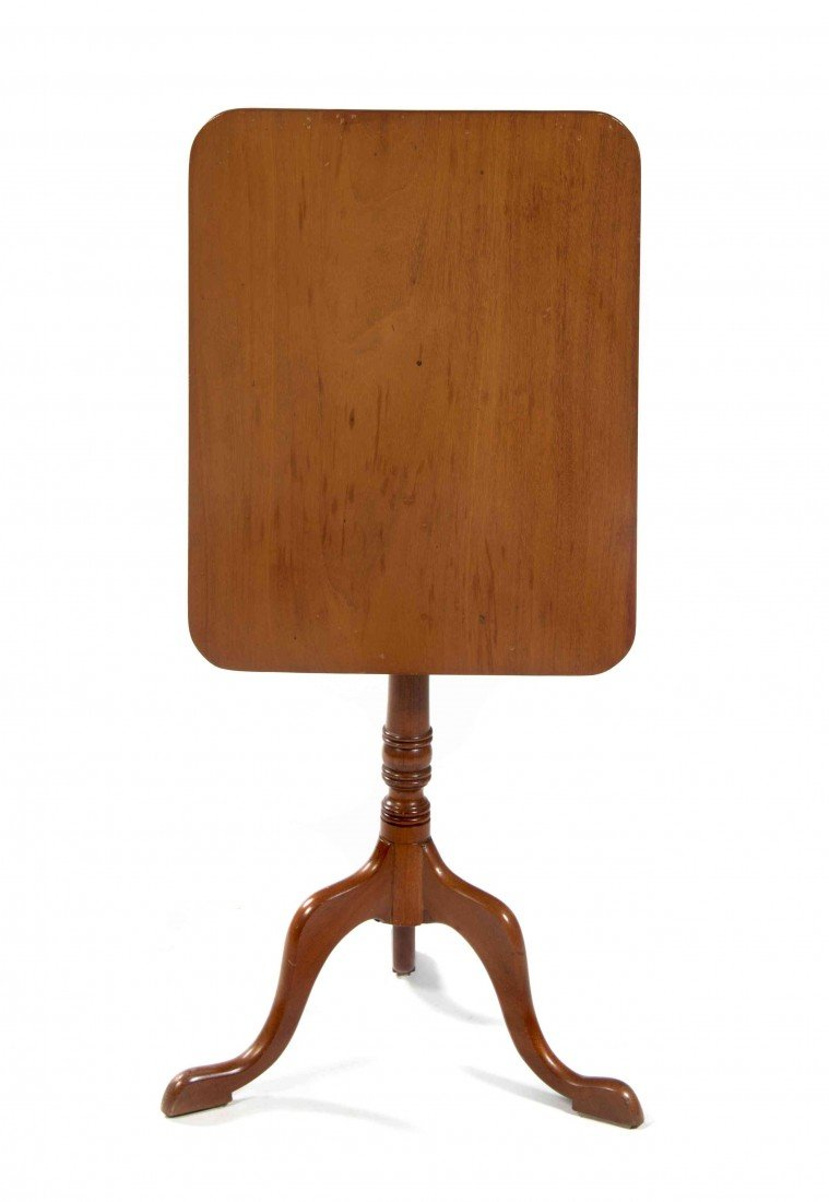 2017: An American Cherry Tilt-Top Candle Stand, Height