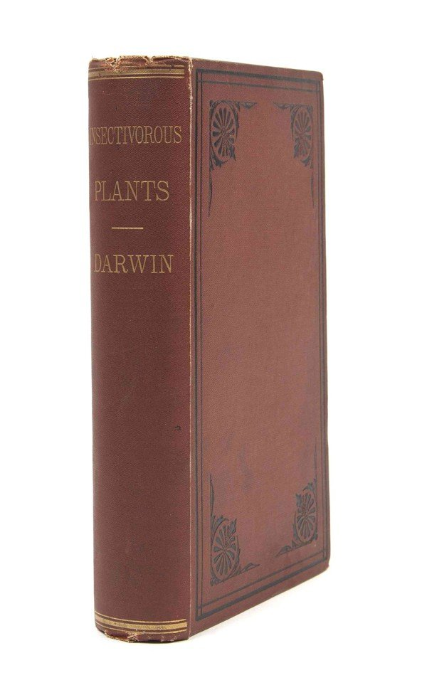8: DARWIN, CHARLES. Insectivorous Plants. NY, 1875. Fir