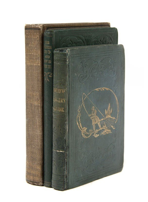 20: (SPORTING) A group of 3 books pertaining to angling