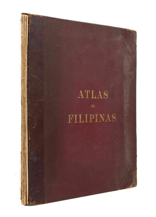 22: (ATLAS) ALGUE, (P. JOSE) Atlas of the Philippine Is