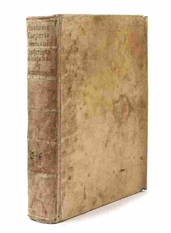 118: DIEMERBROECK, YSBARAND. Anatomie corporis humani..