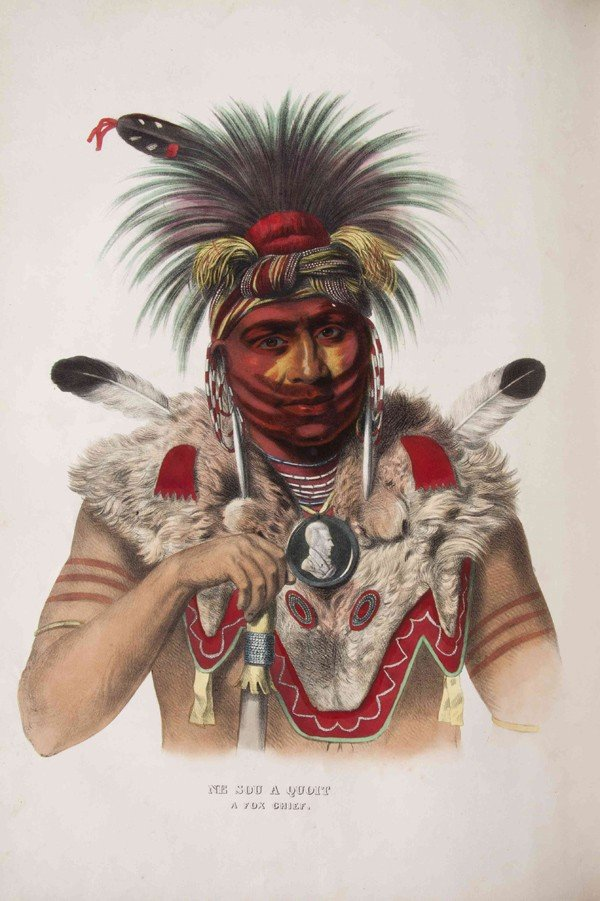 219: (NATIVE AMERICAN) MCKENNEY, THOMAS L., AND JAMES H