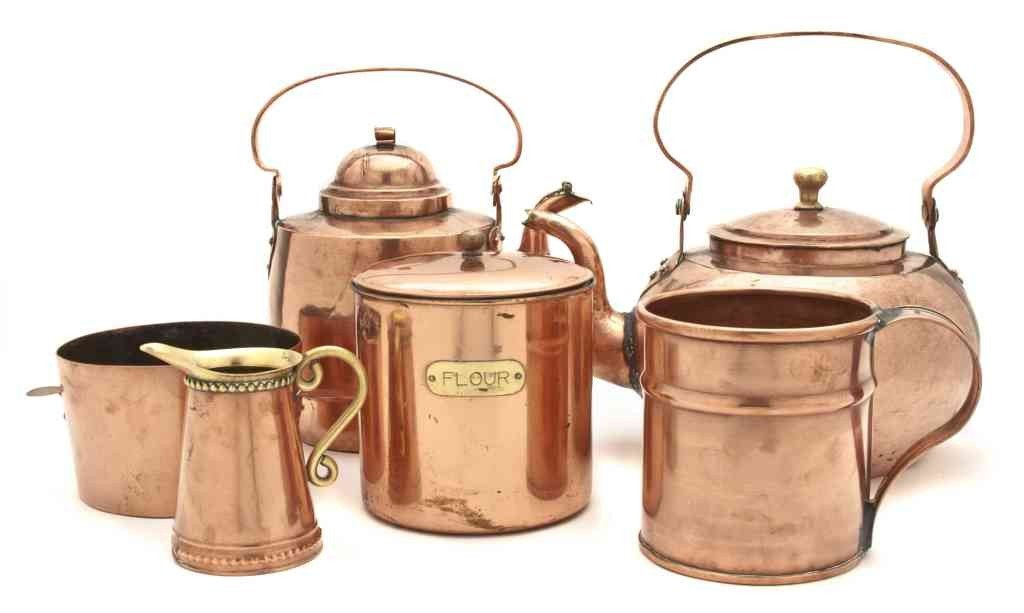 2: A Collection of Copper Utilitarian Articles, Height