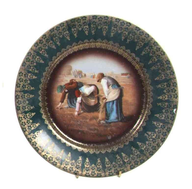 17: A Royal Vienna Style Cabinet Plate, Diameter 9 3/4