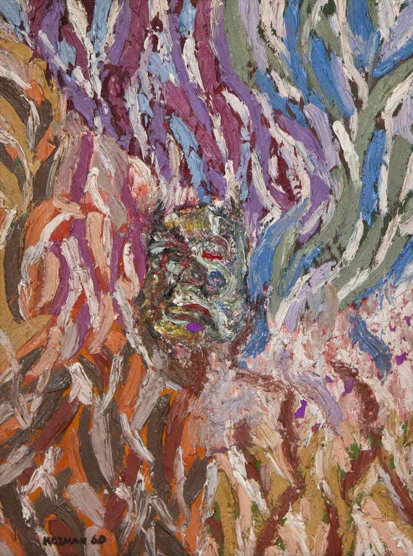 1: Myron Kozman, (American, 1916-2002), Abstraction, 19
