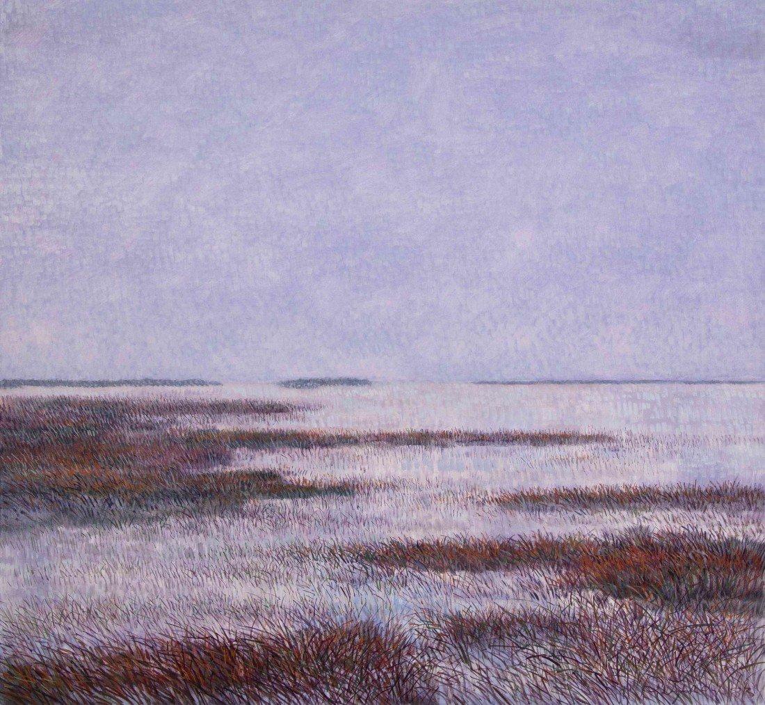 2: Gabor F. Peterdi, (American, 1915-2001), Wetland XXI