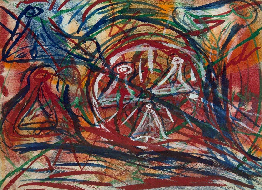 3: Matt Lamb, (American/Irish, b. 1933), Untitled