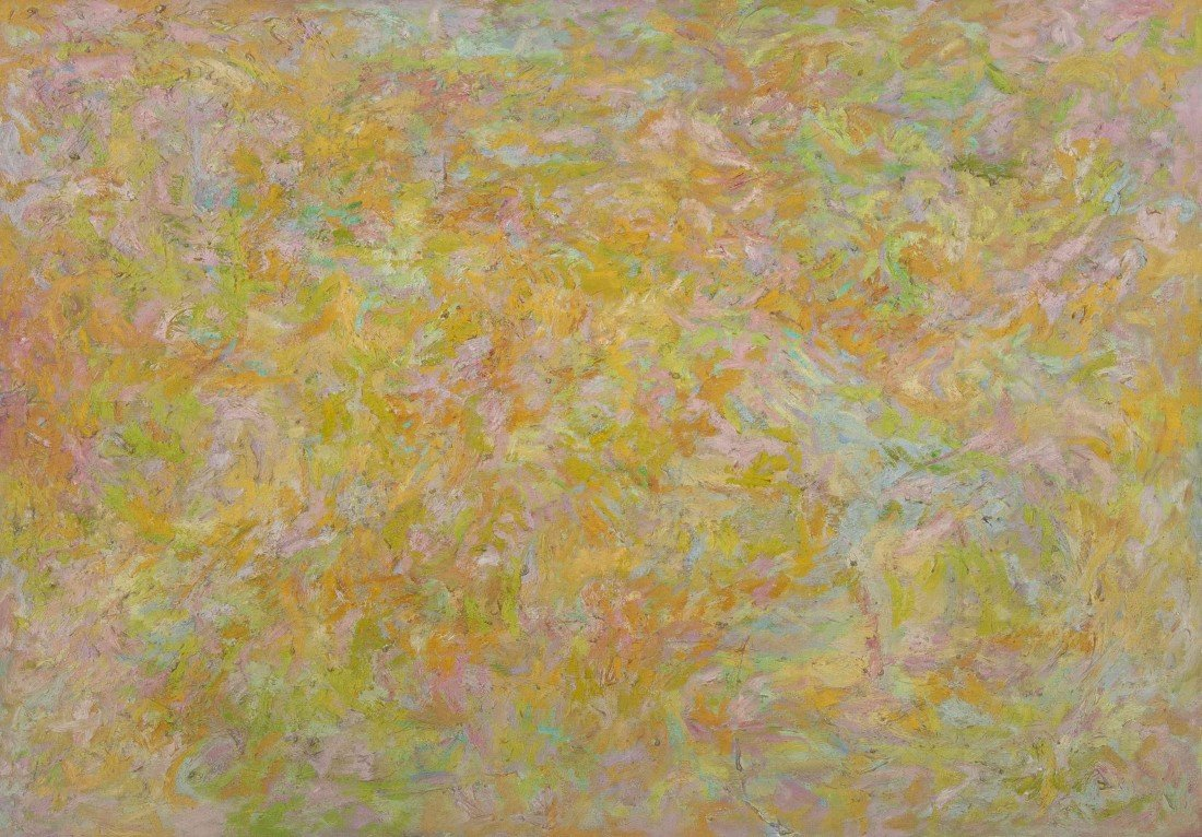 8: Beauford Delaney, (American, 1901-1979), Abstract Co