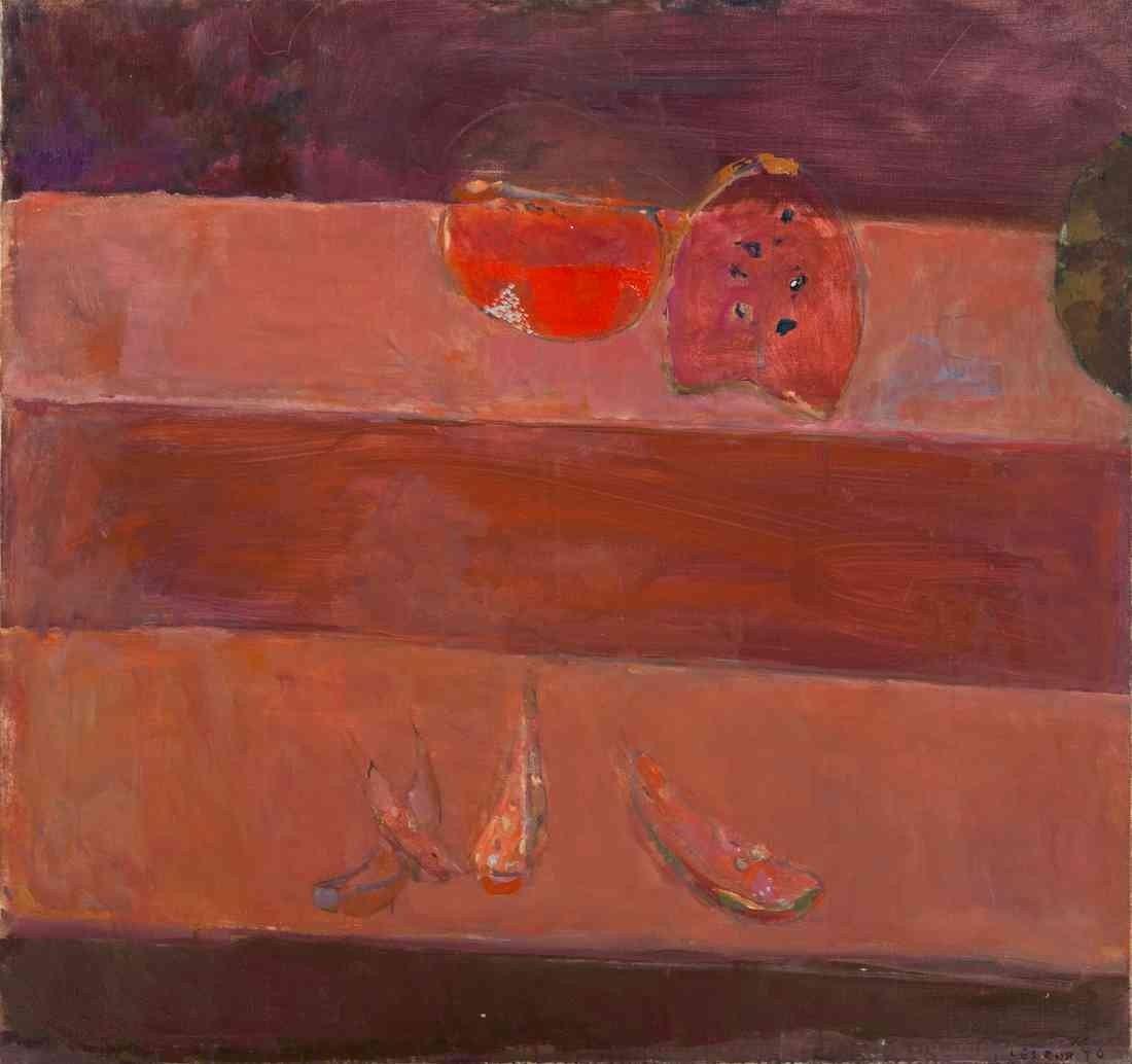 14: Pierre Lesieur, (French, b. 1922), Placard Rouge, 1