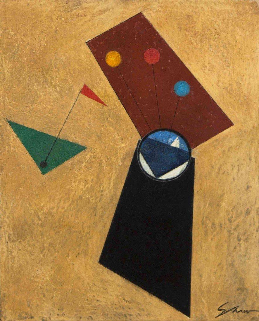 21: Charles Green Shaw, (American, 1892-1974), Spyglass