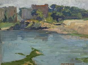 165: Jane Peterson, (American, 1876-1965), Woodland Ref