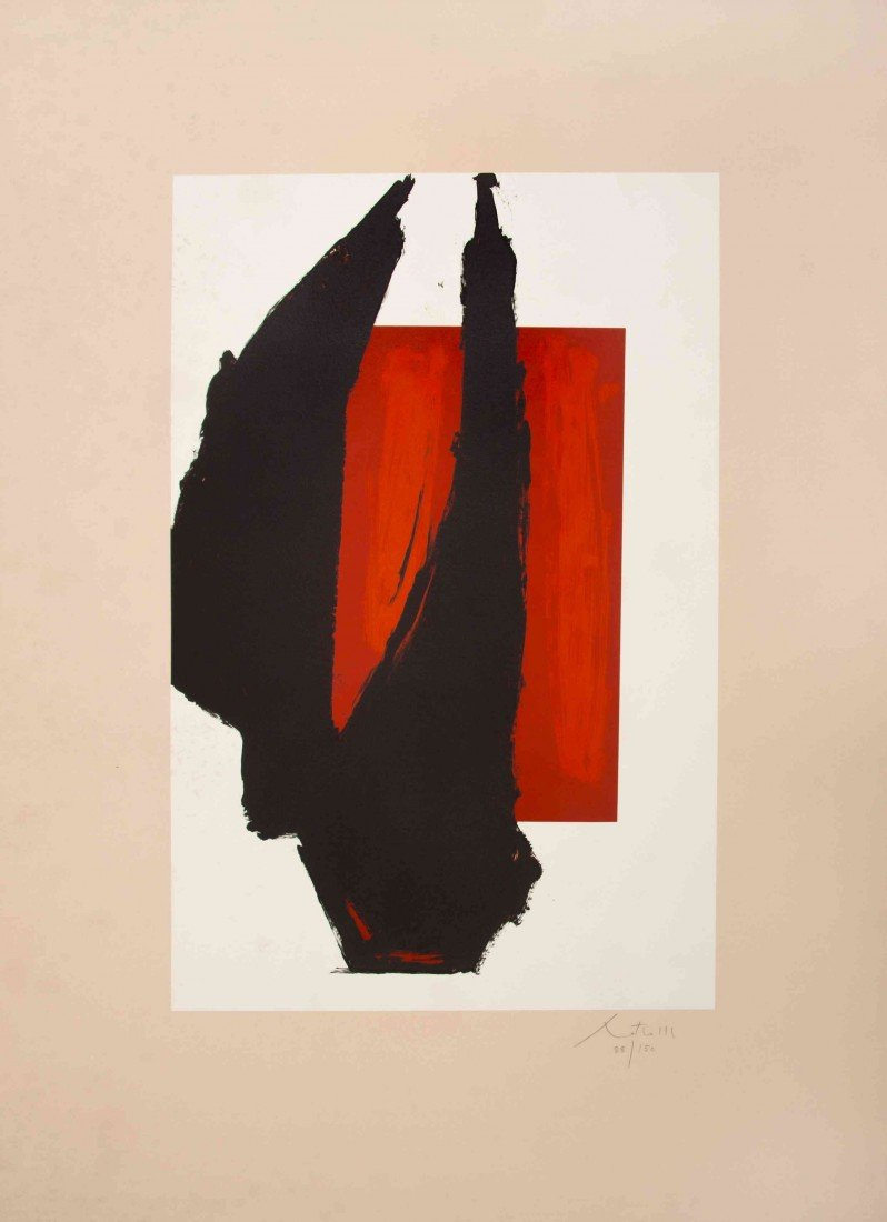 1002: Robert Motherwell, (American, 1915-1991), Art 198