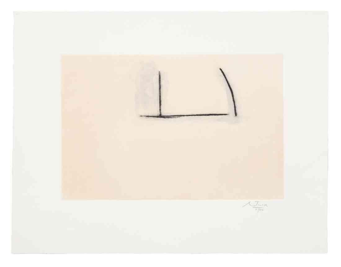 1003: Robert Motherwell, (American, 1915-1991), Naples