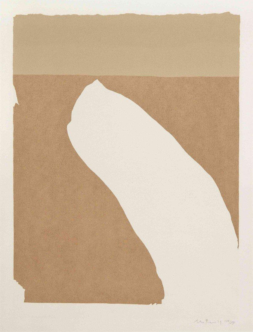 1006: Robert Motherwell, (American 1915-1991), Untitled