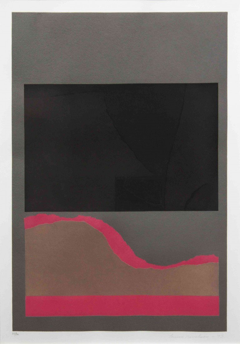 1008: Louise Nevelson, (American, 1899-1988), Untitled,