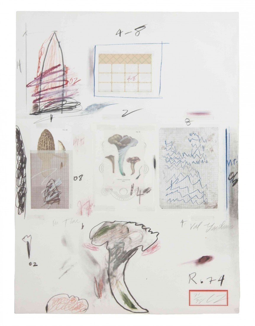 1011: Cy Twombly, (American, 1928-2011), Natural Histor
