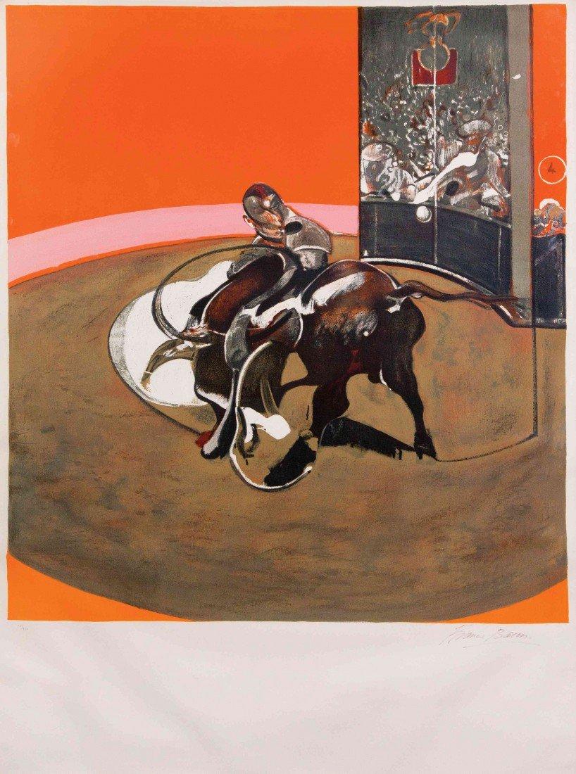 1012: Francis Bacon, (Irish, 1909-1992), Study for Bull
