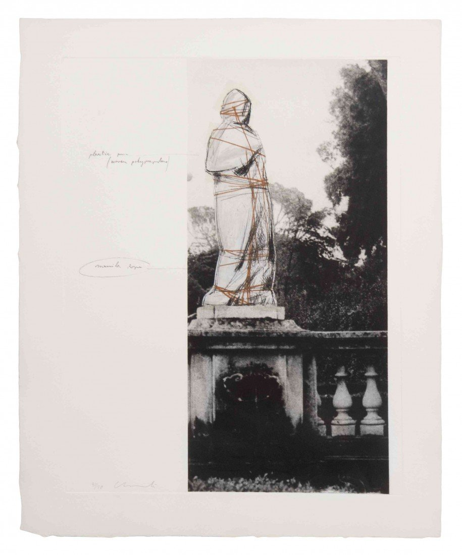 1022: Christo and Jeanne-Claude, (American, b. 1935), W