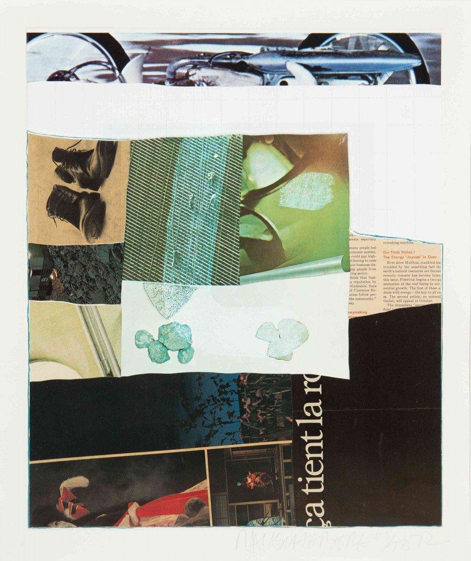 1023: Robert Rauschenberg, (American, 1925-2008), Horse