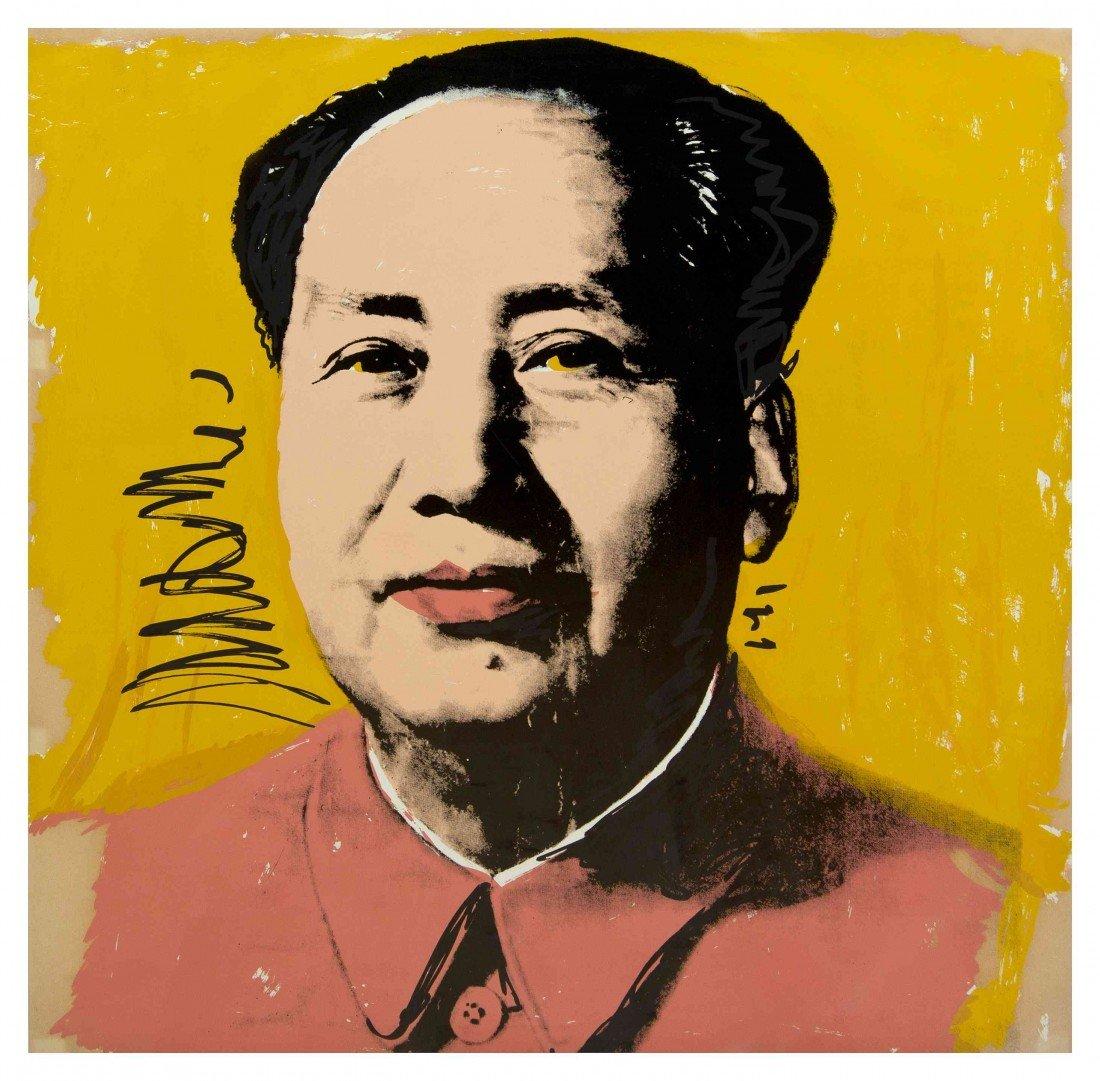 1057: Andy Warhol, (American, 1928-1987), Mao, 1972