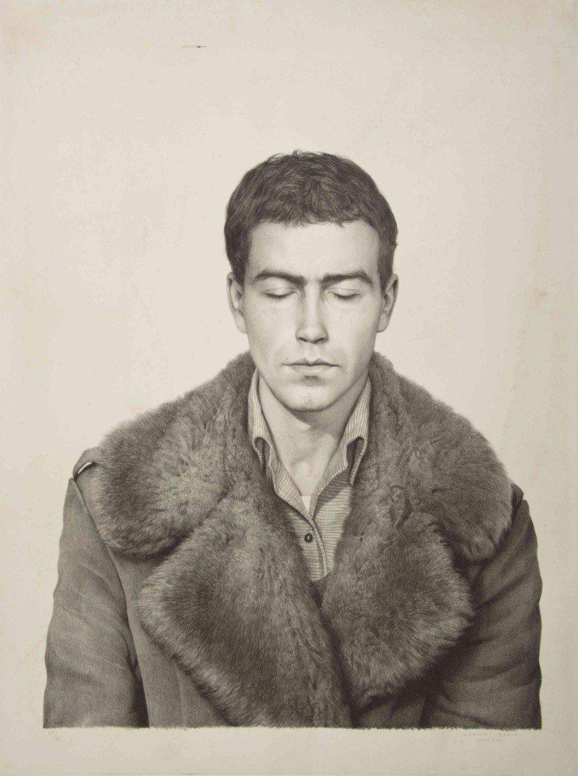 1078: Claudio Bravo, (Chilean, 1936-2011), Fur coat, fr