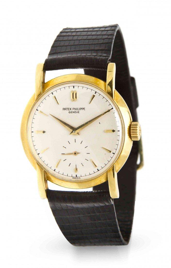 458: An 18 Karat Yellow Gold Ref. 2429 Wristwatch, Pate