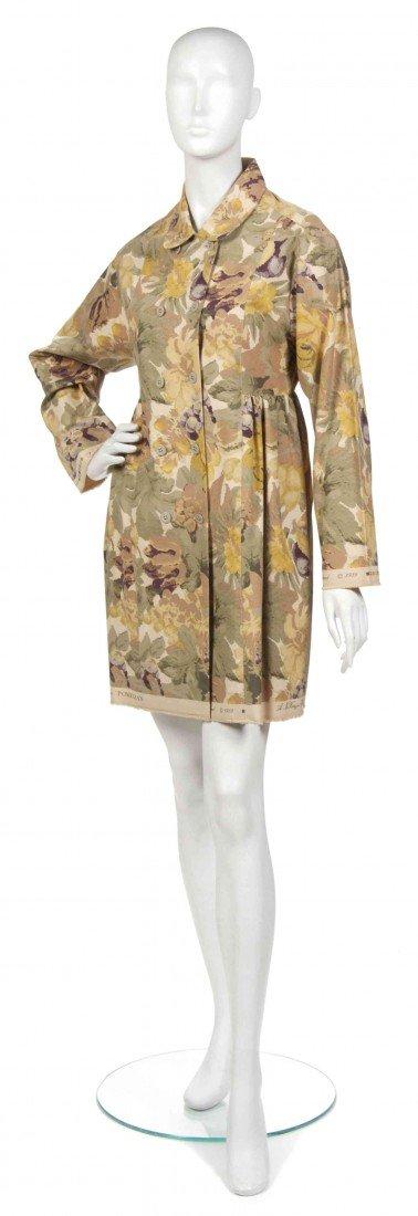 411: A Joan Vass Floral Print Jacket,