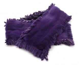 468: A Purple Mink Stole.