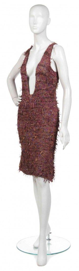 485: A Joan Vass Sweater Dress,