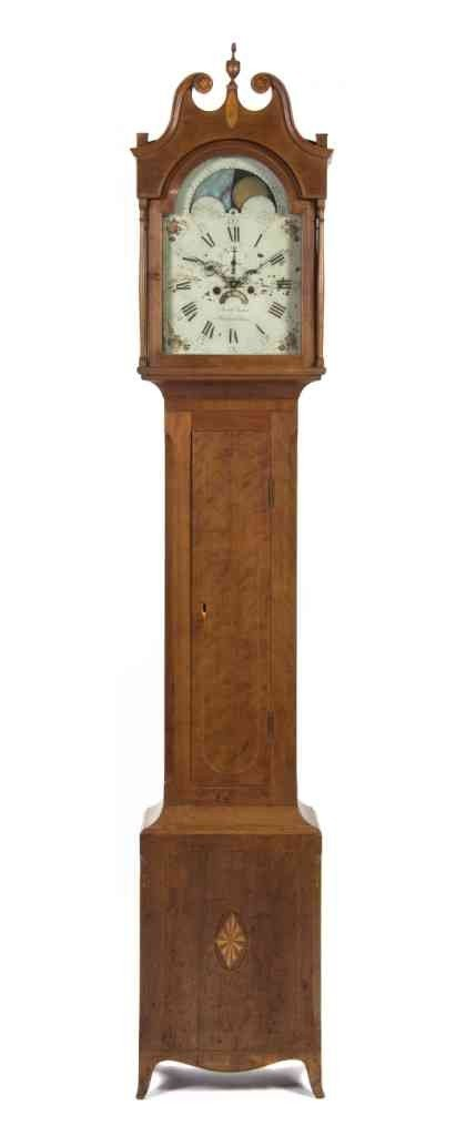601: An American Tall Case Clock, Jacob Craft, Height 9